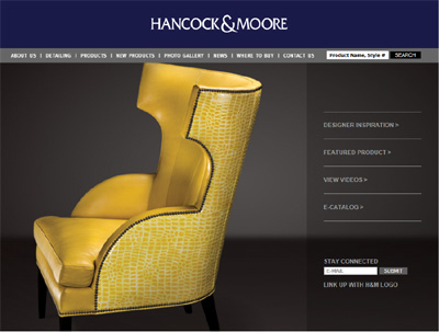 example of an online catalog website