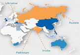 fast growth countries in relation to outsourcing