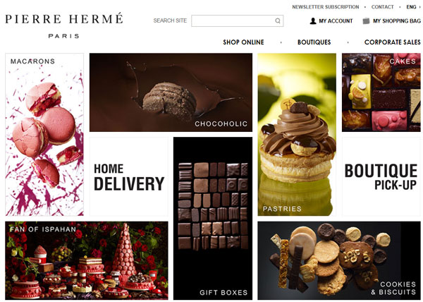 Food site in Magento - an example of a versatile site - Dallas, DFW, North Texas, USA.
