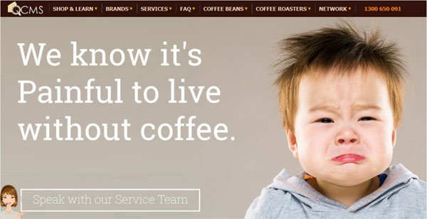 Coffee distributor website in Magento. Developed by InterloperInc.com based in Dallas, Texas USA. Specialists in Magento ecommerce