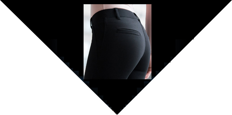 Yoga pants that can be worn as dress pants