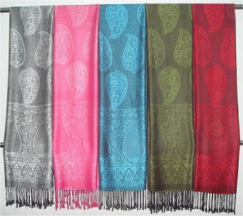 Pashmina Shawls and scarves