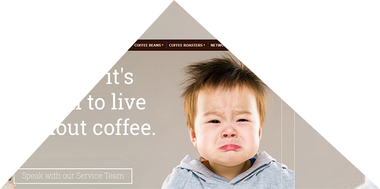 Magento ecommerce for a coffee distributor