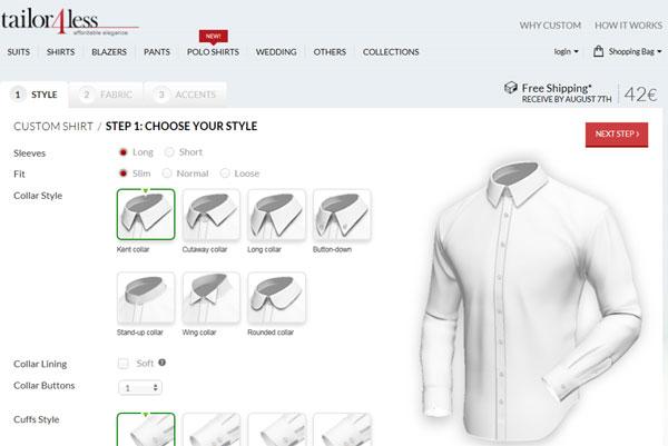 Custom Tailoring website in Magento developers, consultants,specialists,