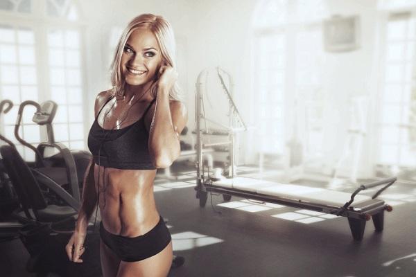 Fitness website in WordPress
