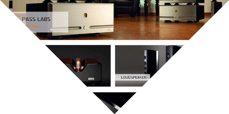 Example of a very well designed website dealing in consumer electronics and high end products