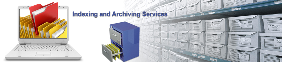Data indexing and archiving services