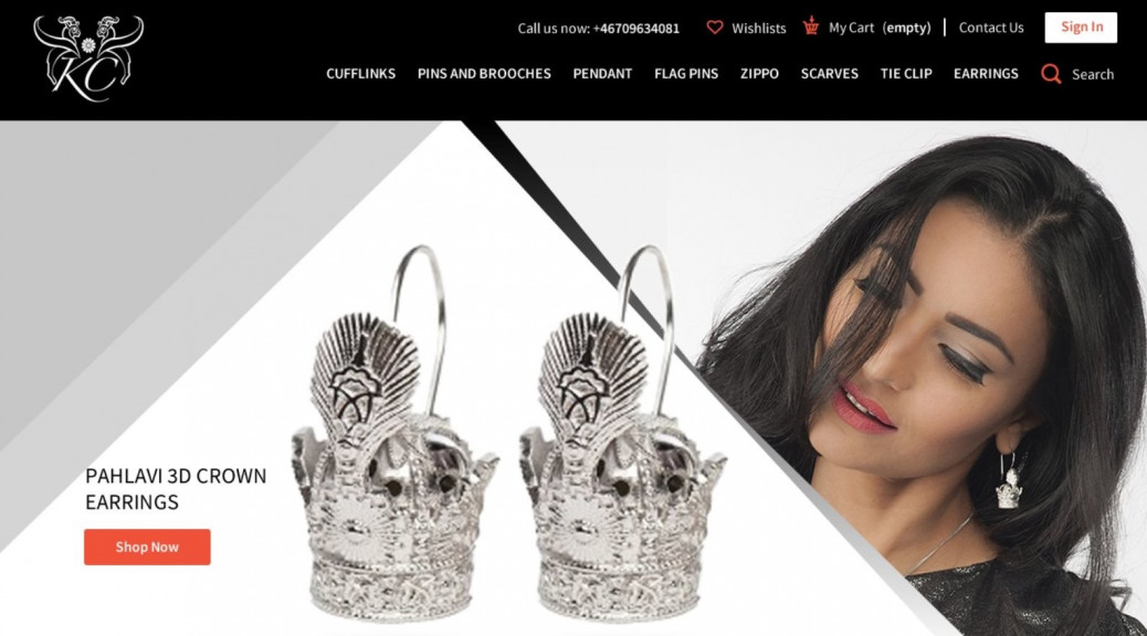 How to setup an online jewelry store
